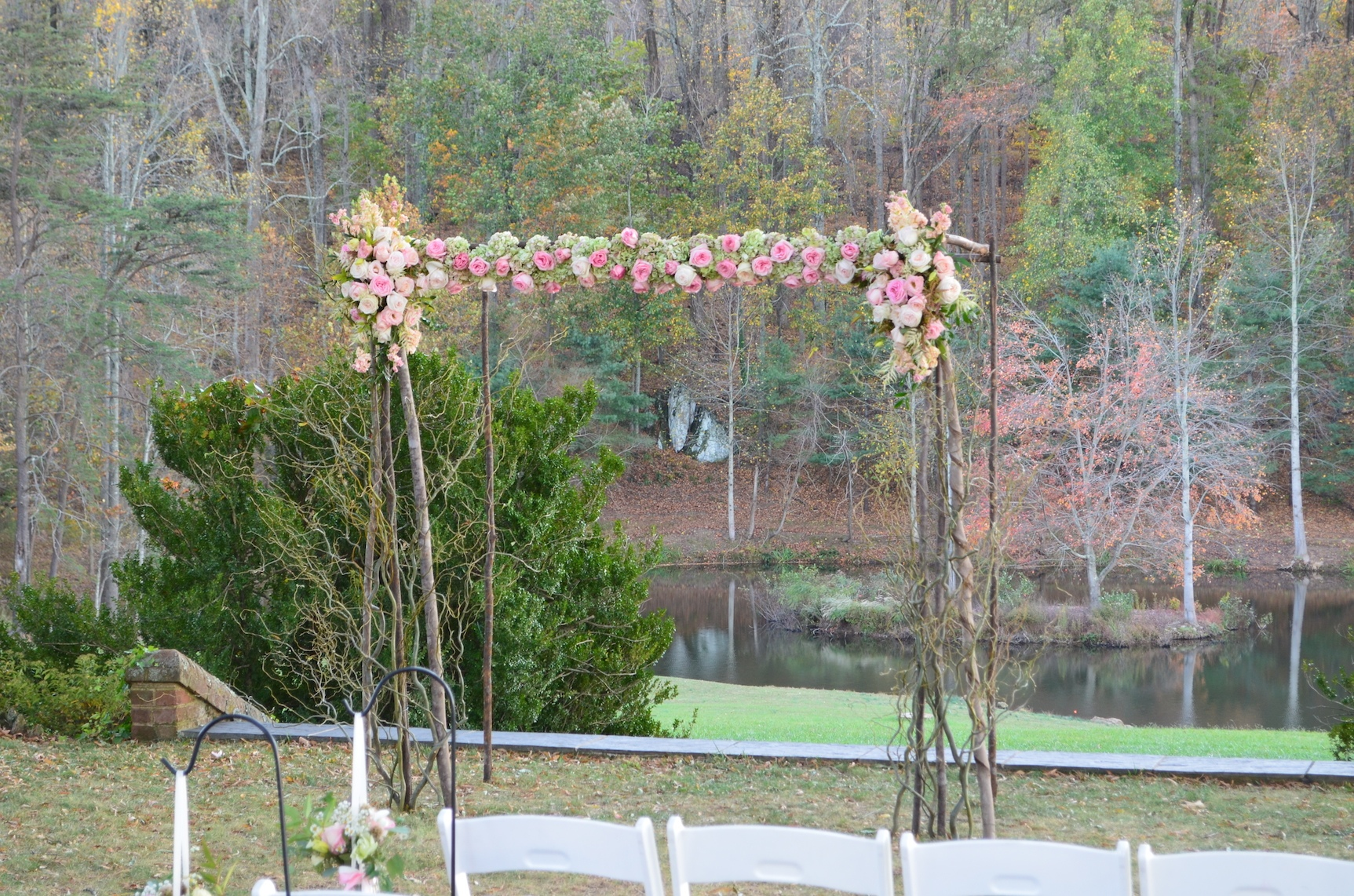 2 Pond Verulam Charlottesville Wedding
