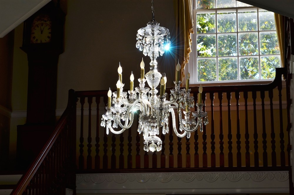 Virginia Charlottesville farm estate verulam chandellier