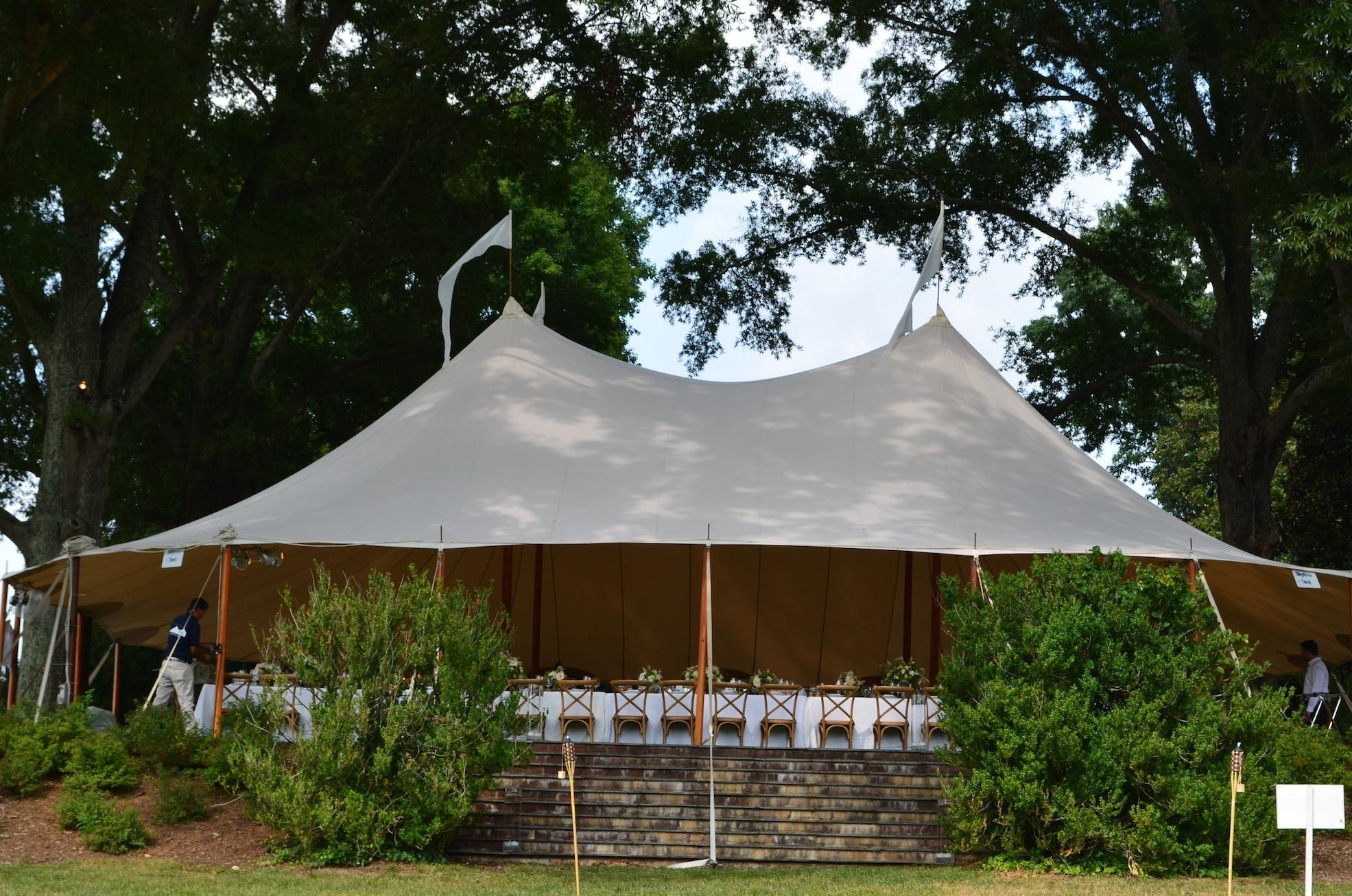 zz Croquet Lawn Tent Charlottesville Wedding