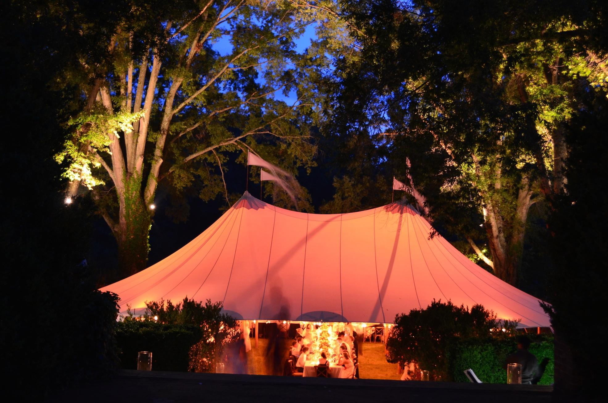 zz Croquette Lawn Tent Night Verulam