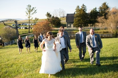 Rebecca & matthew wedding party – website