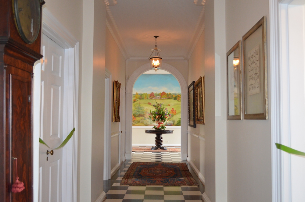 3 virginia charlottesville farm estate hall to foyer verulam