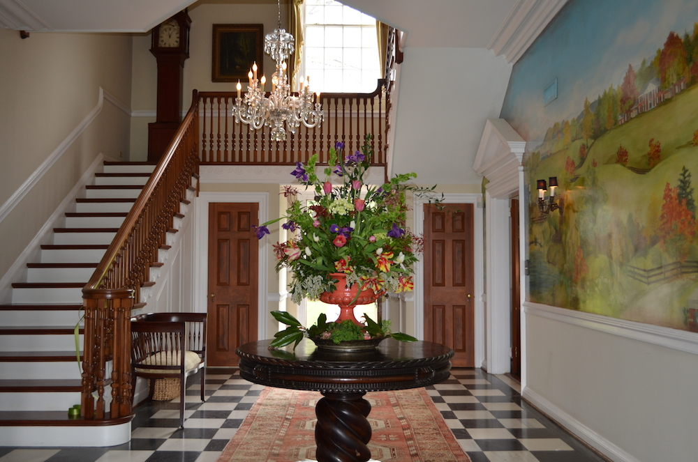 virginia charlottesville farm estate foyer verulam 2