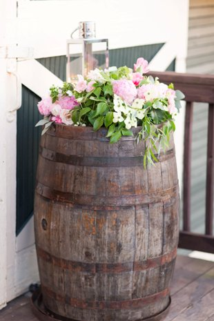 Wine Barrell decor