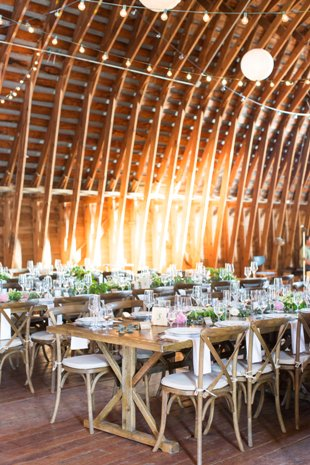 kristina and Matt barn decor