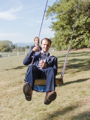 Billy on the swing