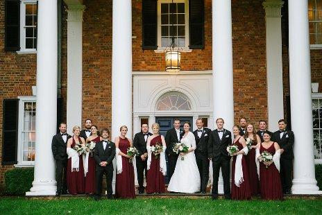 Bridal Party portico