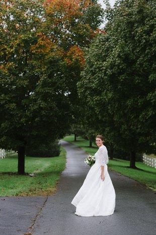 Bride Front driveway