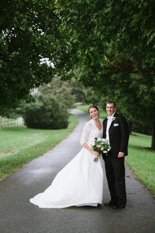Bride & Groom front driveway