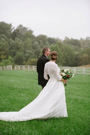 Bride & Groom front lawn