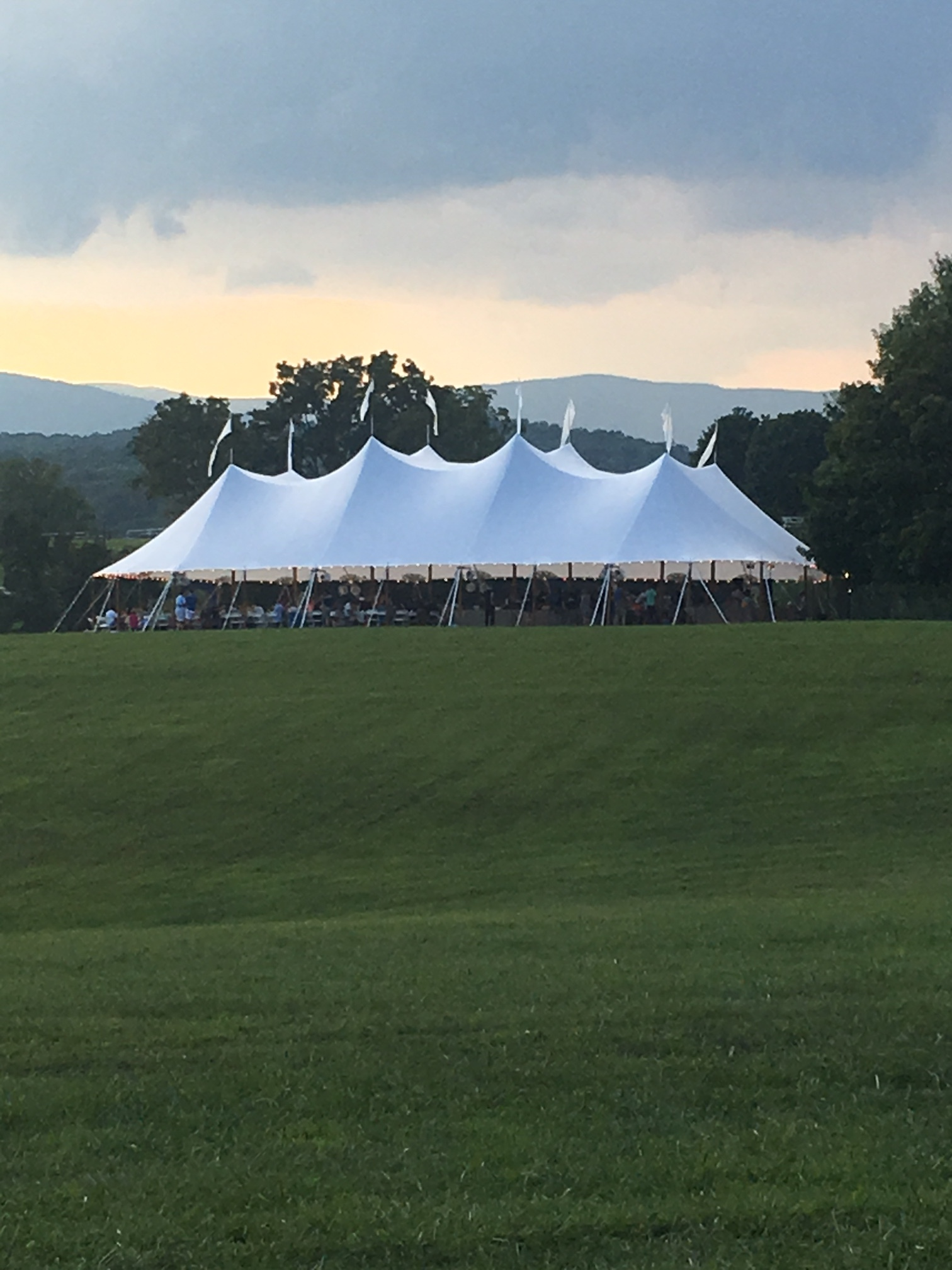 Tent with Guests